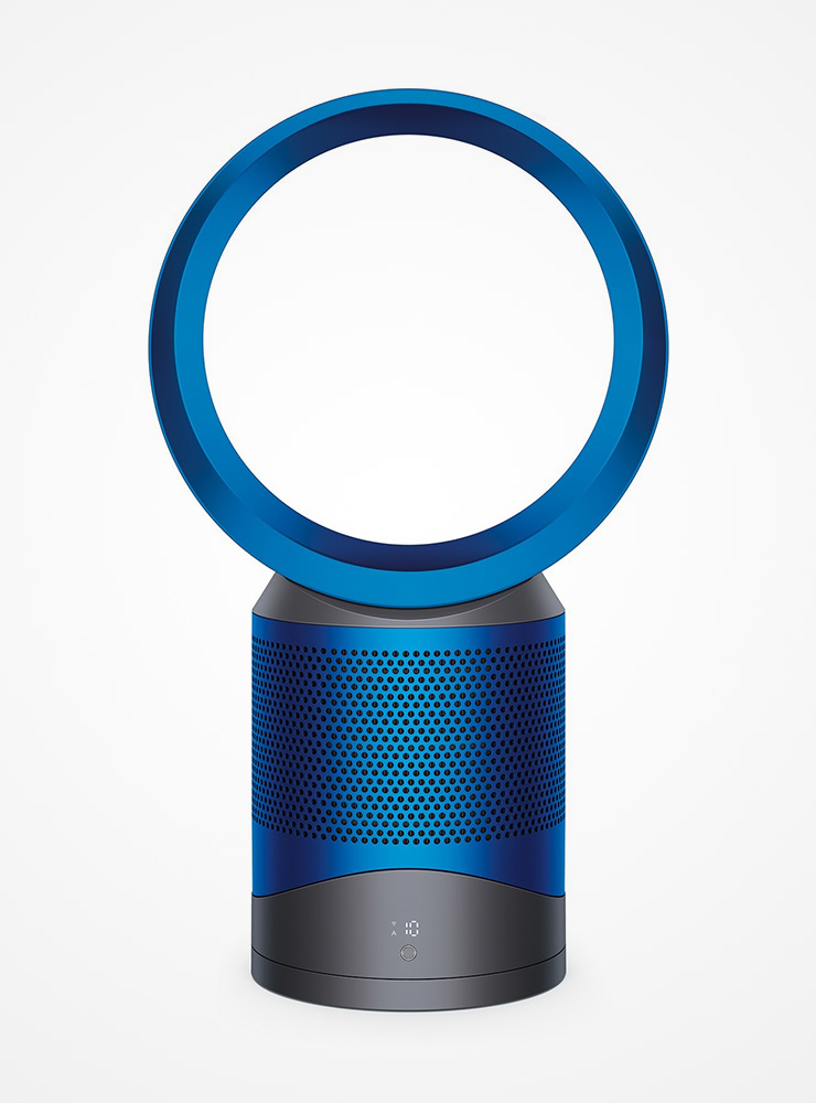 dyson pure cool link desk iron blue superior vacuum. Black Bedroom Furniture Sets. Home Design Ideas